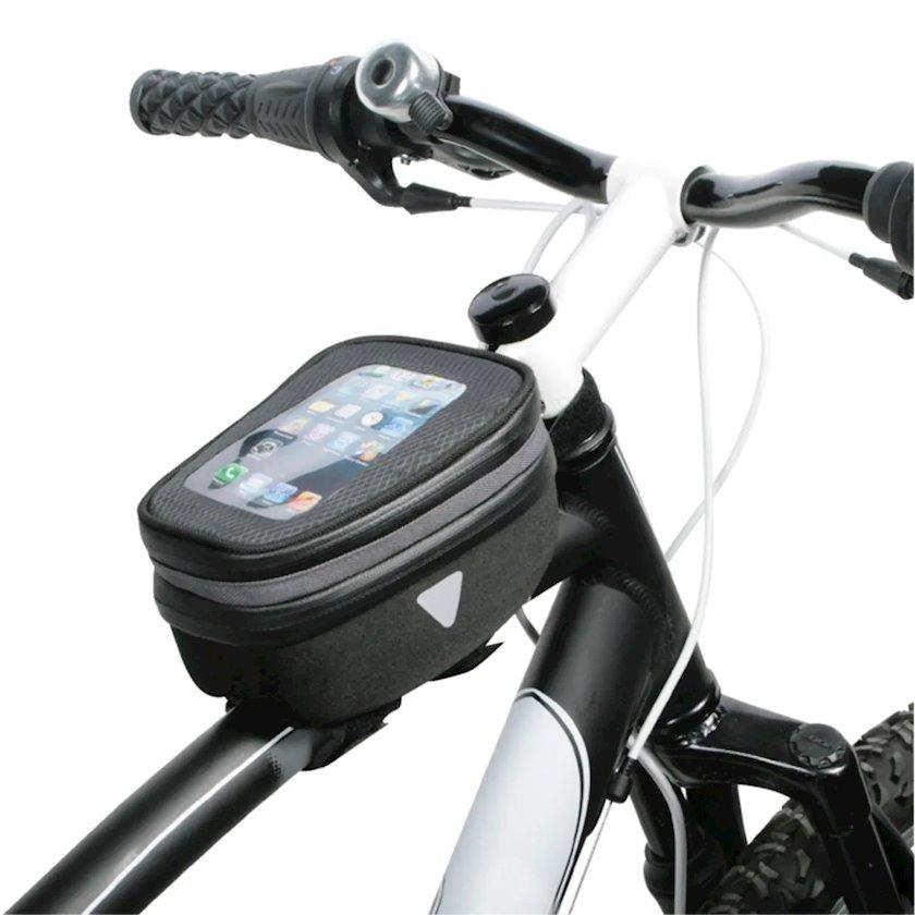 Velosiped çantası Hapo G EVA Smartphone Frame Bag, qara rəng