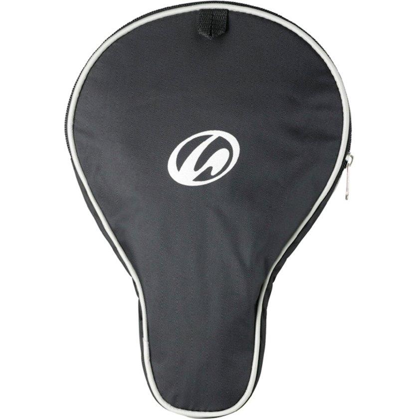 Stolüstü tennis raketkası üçün çexol Athli-tech RQT GO COVER, qara