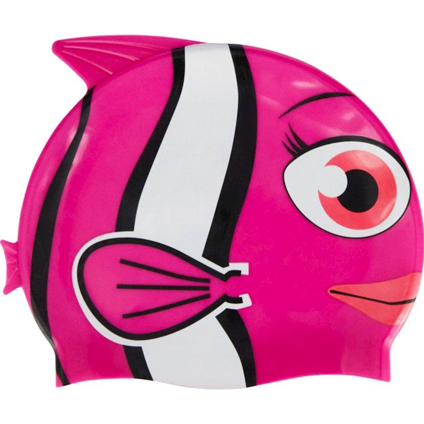 Üzmək üçün papaq Athli-Tech Bonnet Fun G Rose 1396504, Uşaq üçün/Qız üçün, Çəhrayı