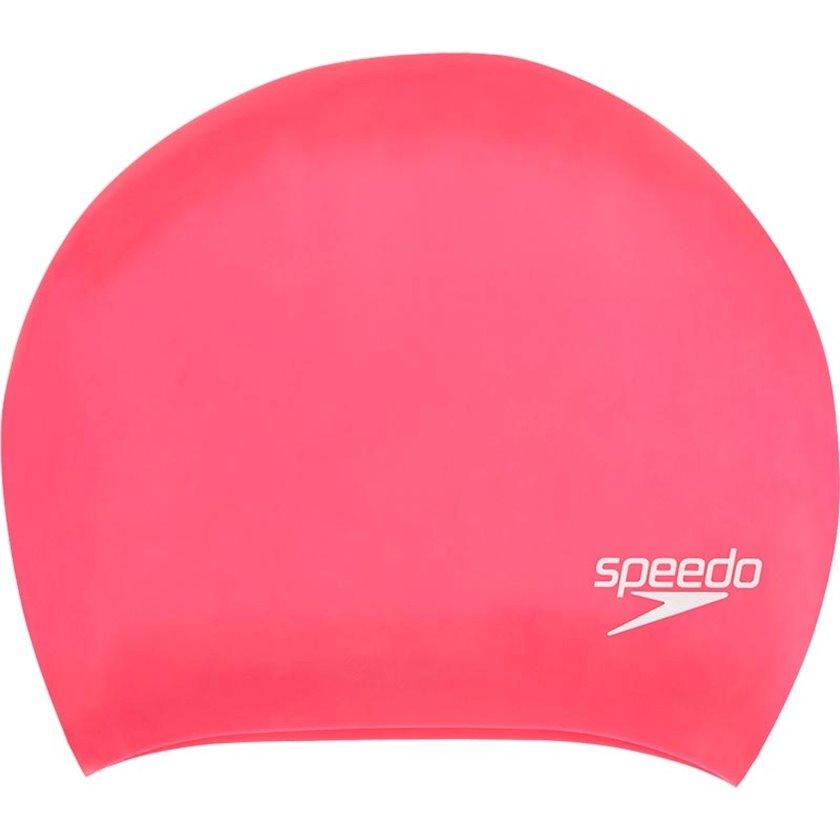 Üzmək üçün papaq Speedo Long Hair Cap Au Pink 806168A064, Qadın üçün, Çəhrayı, Ölçü universal
