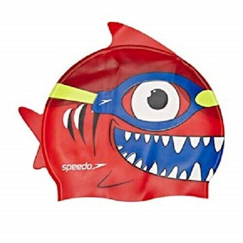 Üzmək üçün papaq Speedo Sea Squad Polyester Cap Red 808769B362, Uşaq üçün/Oğlan üçün, Qırmızı