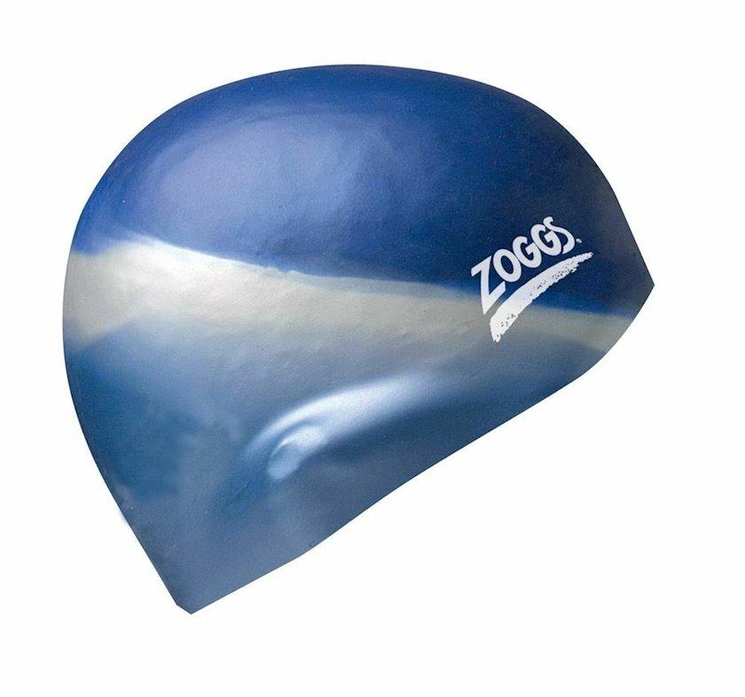 Üzmək üçün papaq Zoggs Silicone Cap Multi Colour Blue/Silver Z02301603, Uniseks, Mavi, Ölçü universal