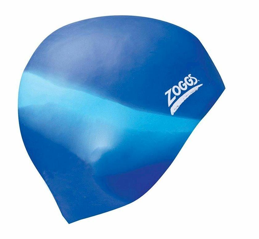 Üzmək üçün papaq Zoggs Easy Fit Silicone Swimming Cap Z02305603, uniseks, göy, ölçü universal