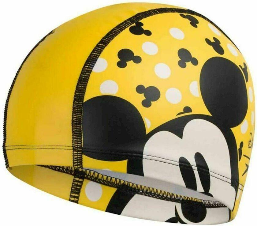 Üzmək üçün papaq Speedo MICKEYMOUSE PACE CAP YLW-BLK 8-113077123, uşaqlar üçün, sarı-qara, ölçü universal
