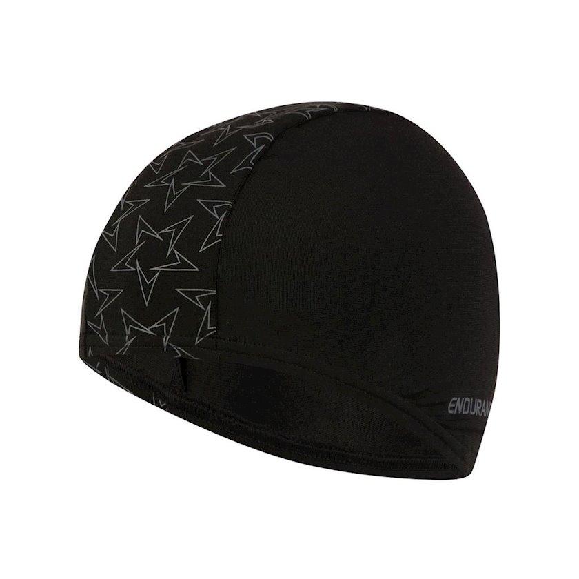 Üzmək üçün papaq Speedo Boomstar End+ Cap - Swimming Hat - Black 8-12239D670, uniseks, qara-boz, ölçü universal