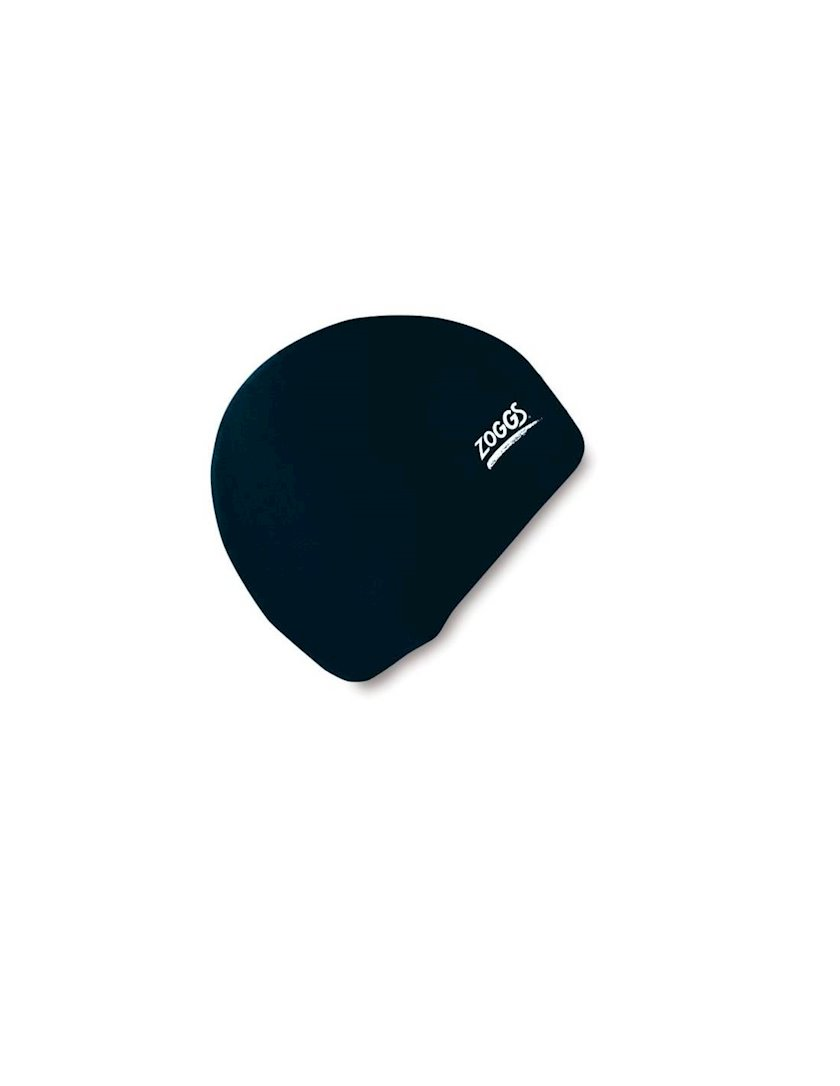 Üzmək üçün papaq Zoggs LATEX CAP Z02300611 , uniseks, qara, ölçü universal