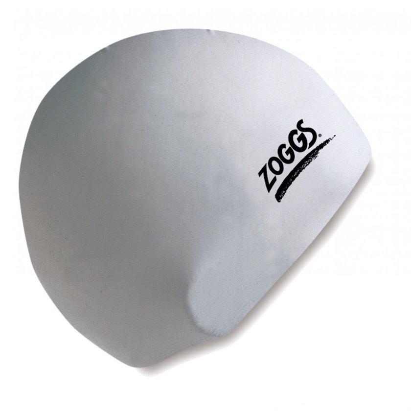 Üzmək üçün papaq Zoggs Silicone Cap White Z02300772, uniseks, ağ, ölçü universal