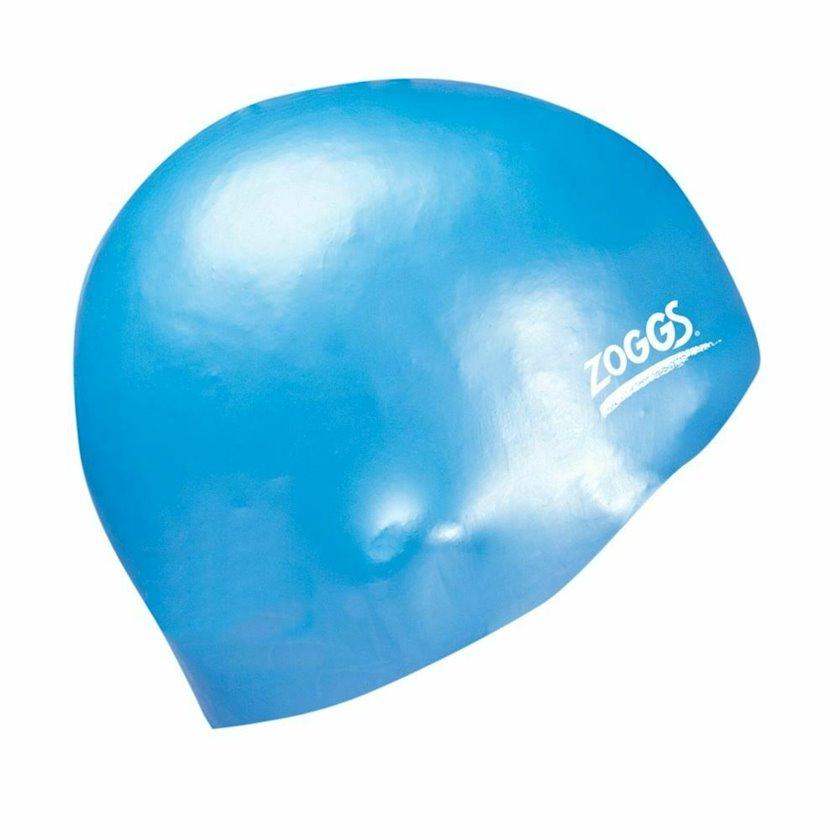 Üzmək üçün papaq Zoggs Easy-fit Silicone Cap Swimming Hat - Swimming Cap Z02301624, uniseks, göy, ölçü universal