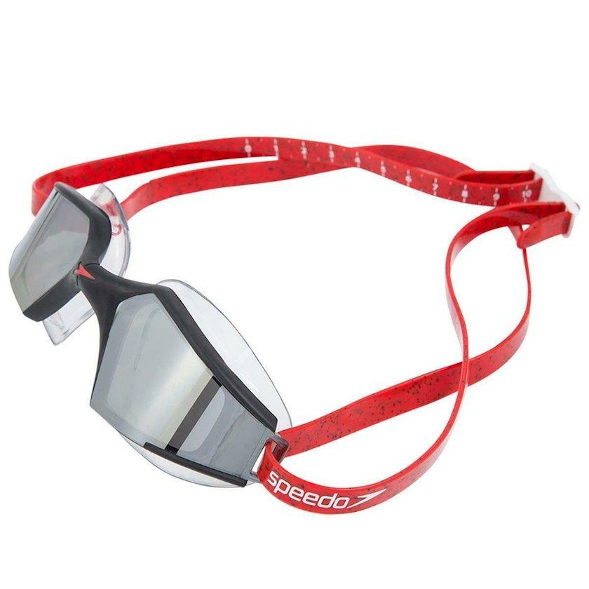 Üzgüçülük üçün eynək Speedo Aquapulse Max 2 Mirror Goggles, uniseks, qırmızı/qara