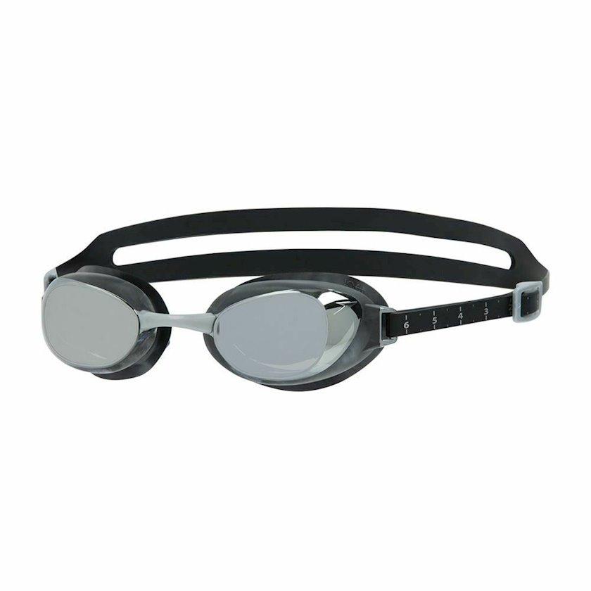 Üzgüçülük üçün eynək Speedo Aquapure Mirror Goggles, uniseks, qara/gümüşü