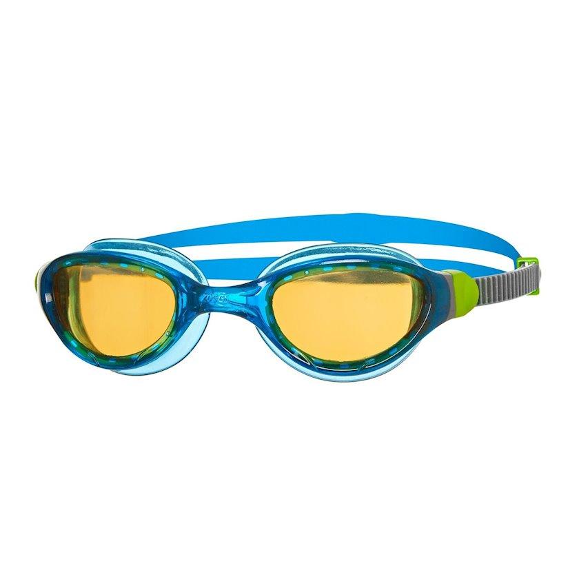 Üzgüçülük üçün eynək Zoggs Phantom 2.0 Adult Swimming Goggles UV Anti-fog, uniseks, göy/boz