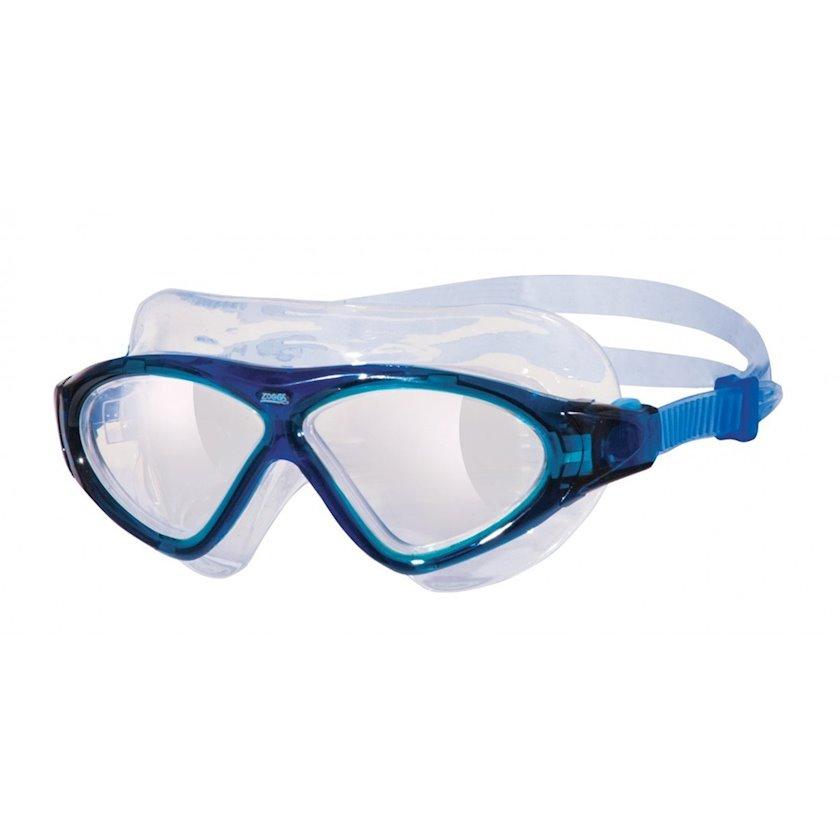 Üzgüçülük üçün eynək Zoggs 302919 Tri-Vision Mask, uniseks, göy/şəffaf