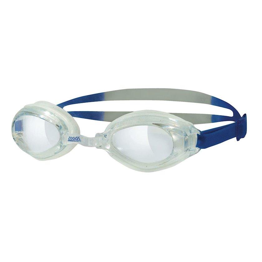 Üzgüçülük üçün eynək Zoggs Endura Adult Swimming Goggles UV Anti-fog, uniseks, şəffaf/göy/gümüşü