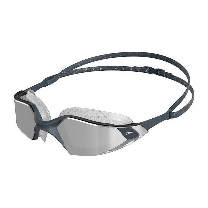 Üzgüçülük üçün eynək Speedo Aquapulse Pro Mirror, uniseks, boz/gümüşü