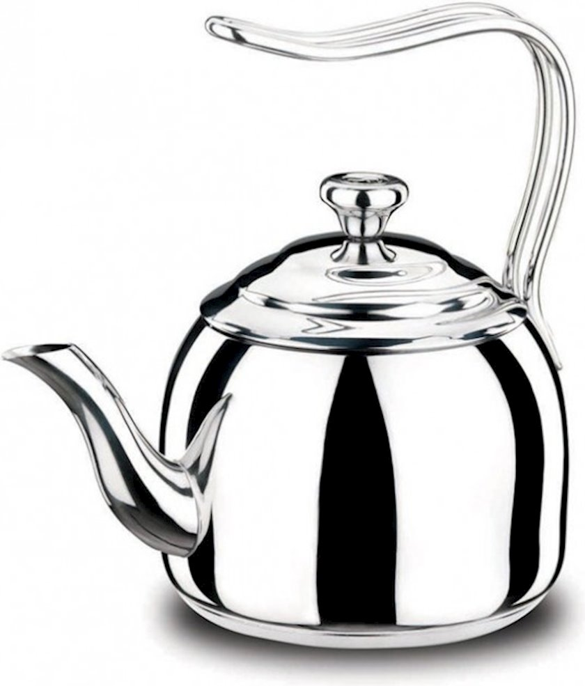 Çaydan Korkmaz Droppa, A054, 2.7lt., Material: paslanmayan polad