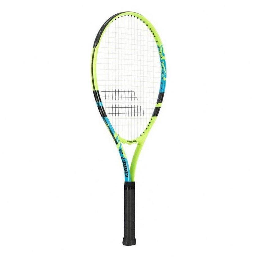 Böyük tennis üçün tennis raketkası Babolat Comet 21, uşaqlar üçün, alüminium, yaşıl