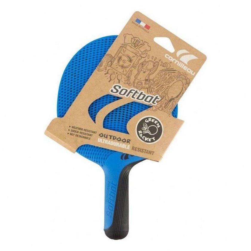 Stolüstü tennis üçün tennis raketkası Cornilleau Softbat, uniseks, plastik, göy, 190 q