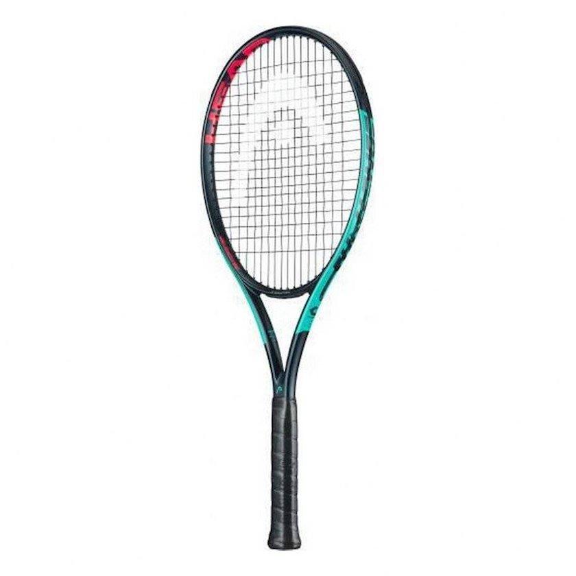 Böyük tennis üçün tennis raketkası Head Challenge MP Gravity S3, uniseks, qrafit, firuzəyi, 270 q