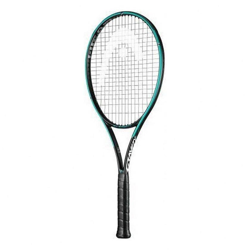 Böyük tennis üçün tennis raketkası Head Graphene 360+Gravity S3, uniseks, qrafit, firuzəyi, 285 q
