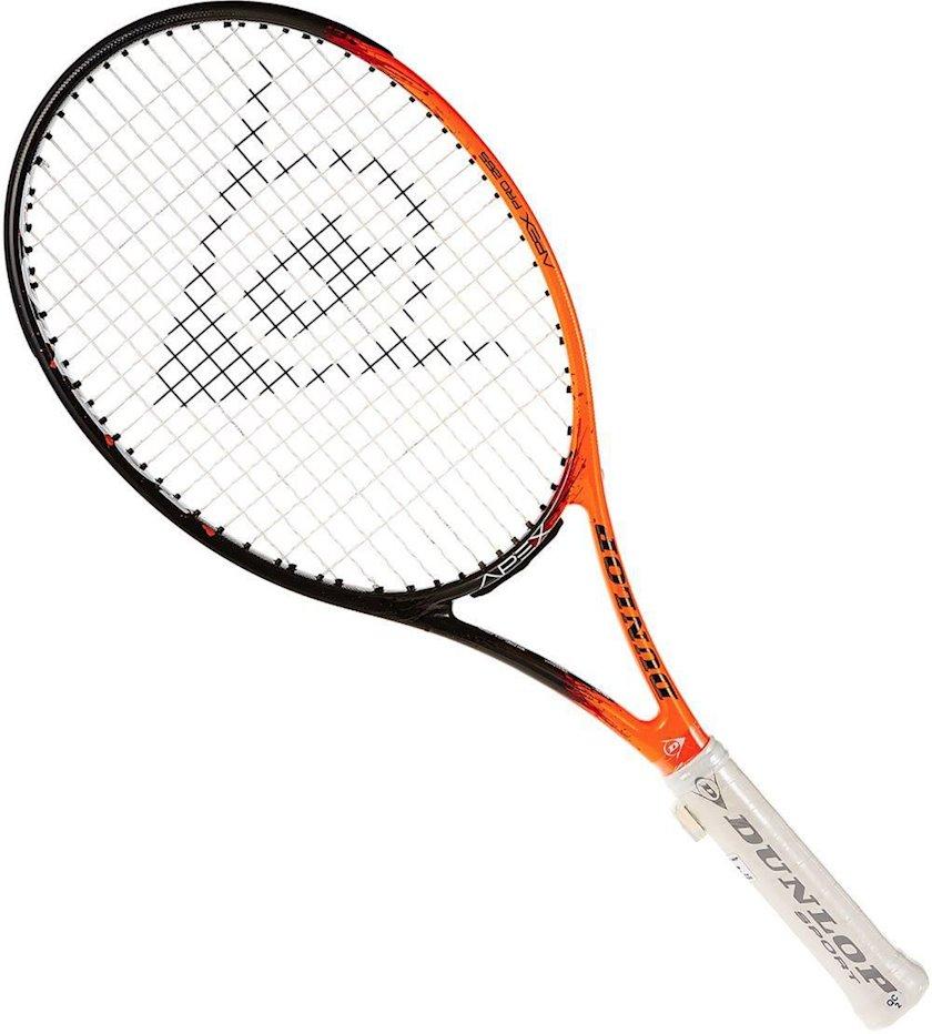 Böyük tennis üçün tennis raketkası Dunlop Apex Pro 265 G4, uniseks, qrafit, narıncı/qara, 265 q