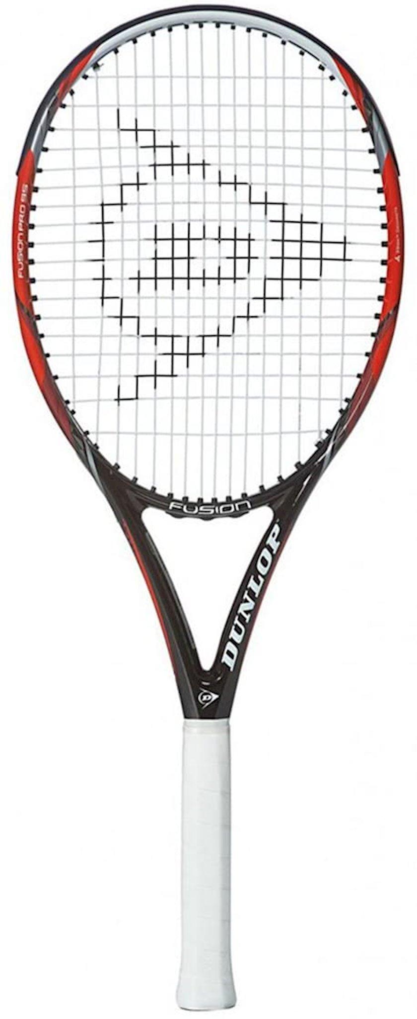Böyük tennis üçün tennis raketkası Dunlop Fusion Pro 95 L2, uniseks, qrafit, qırmızı/qara, 255 q