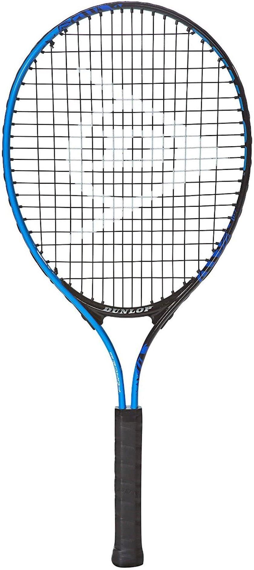 Böyük tennis üçün tennis raketkası Dunlop Force Team 26, uniseks, alüminium, göy/qırmızı, 265 q