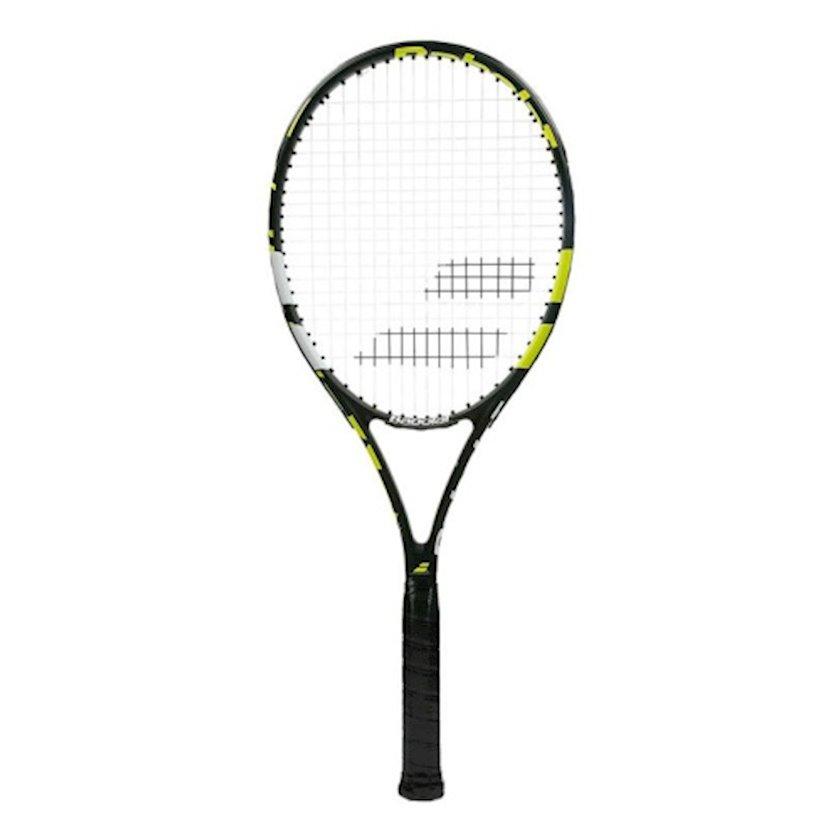 Böyük tennis üçün tennis raketkası Babolat Evoke 102 G2, uniseks, qrafit, sarı/ağ/qara, 270 q