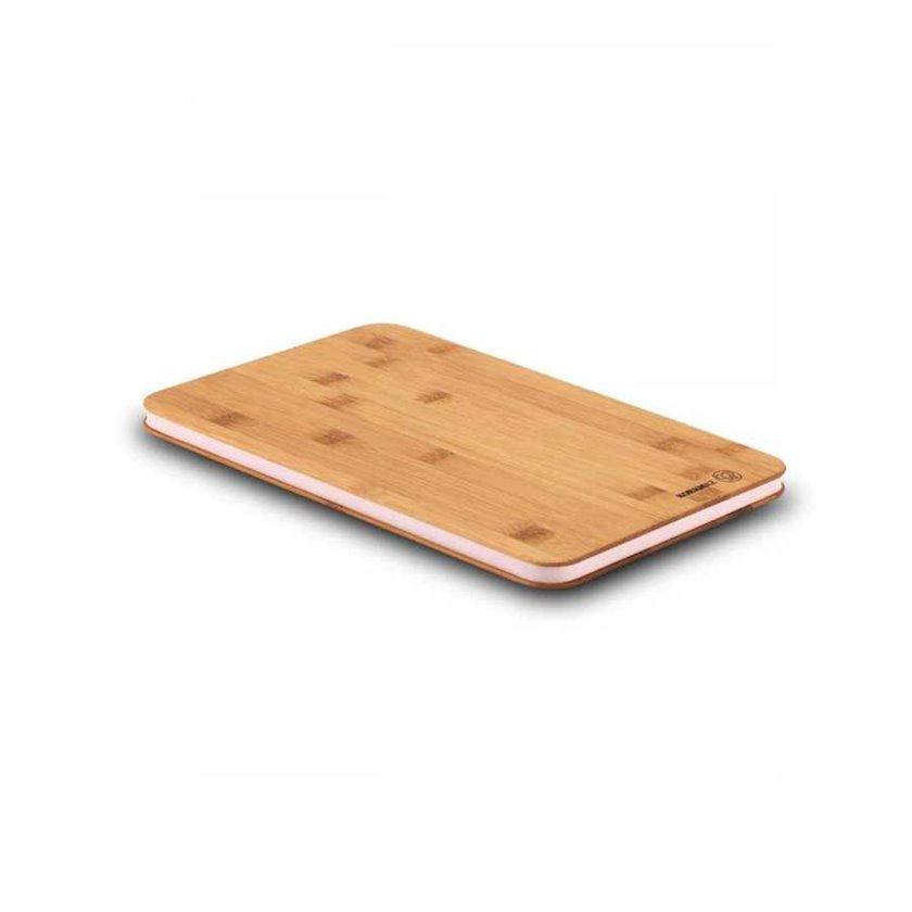 Mətbəx lövhəsi Korkmaz A707-02 Rattana, 30x20sm, bambuk, silikon