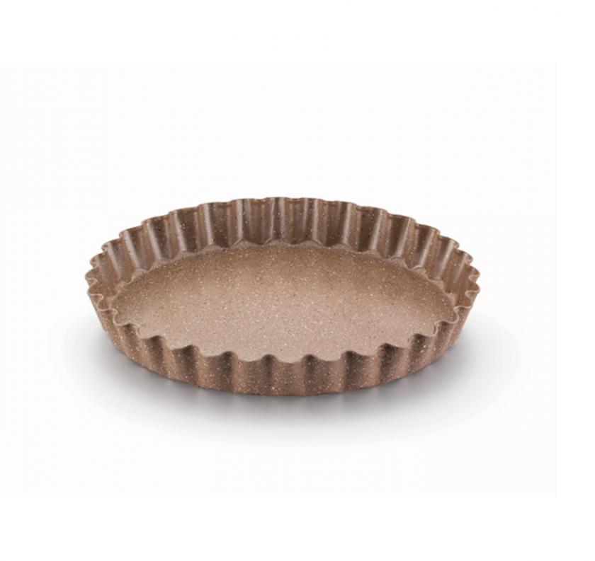 Bişirmə üçün forma Korkmaz A655 28sm, Material: alüminium, yapışmayan örtük, Rəng: qəhvəyi
