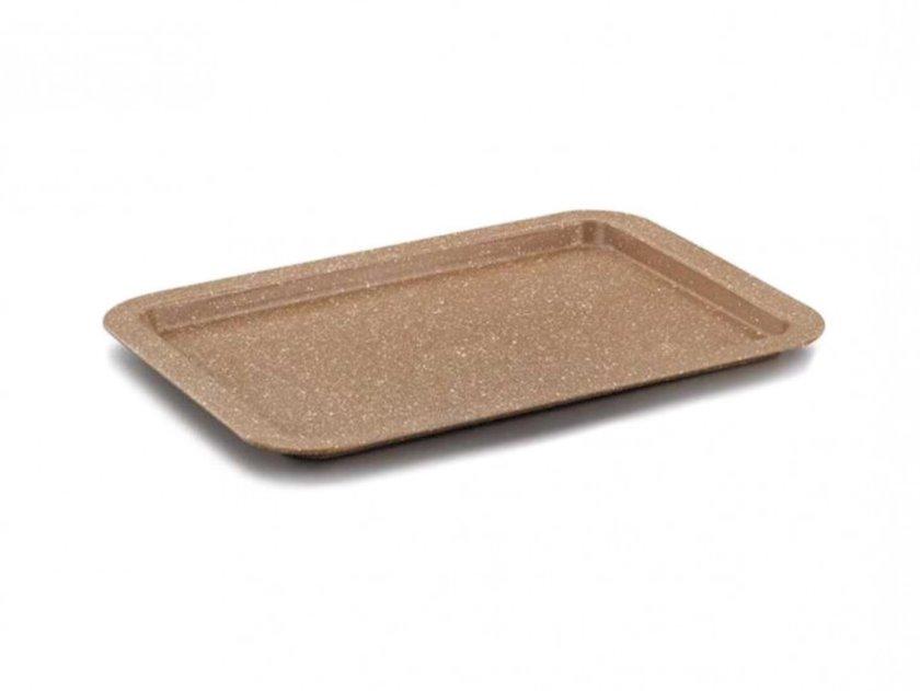 Bişirmə üçün forma Korkmaz A679 38.5sm, Material: alüminium, yapışmayan örtük, Rəng: qəhvəyi
