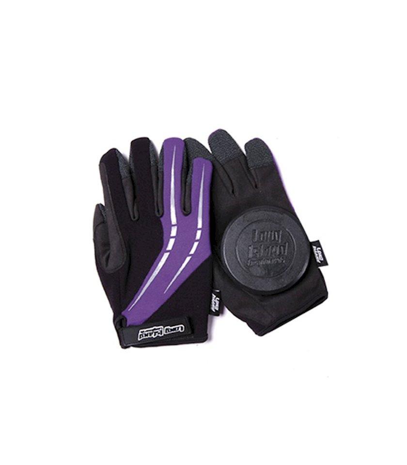 Əlcəklər Long Island Fast Glove, Rəng Qara/Bənövşəyi, Ölçü M