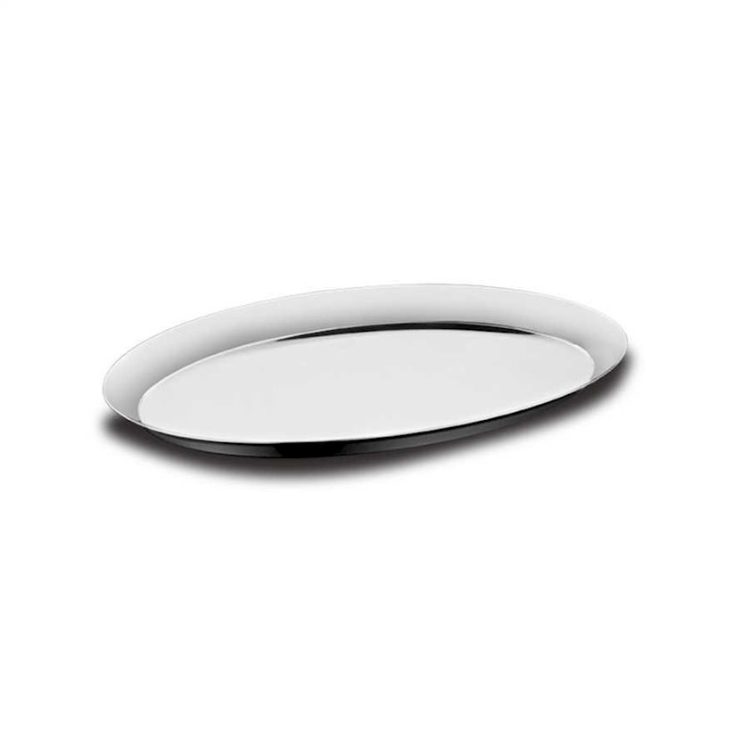 Sini Korkmaz Oval A1786, Ölçü: 25x18sm, Material: paslanmayan polad 18/10