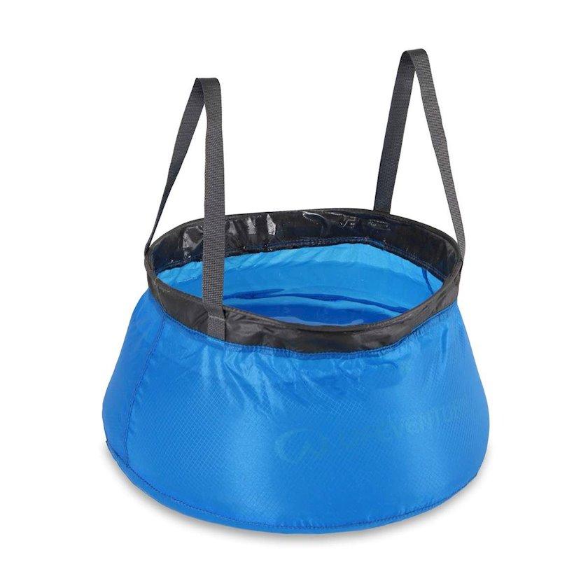 Qatlanan su torbası Lifeventure COLLAPSIBLE BOWL, 10l, göy
