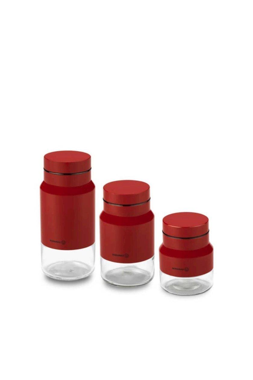 Saxlama dəsti Korkmaz A751-01 Stora, 0.5/0.75/1.25 l, ekoloji təmiz materiallar, 3 əd.