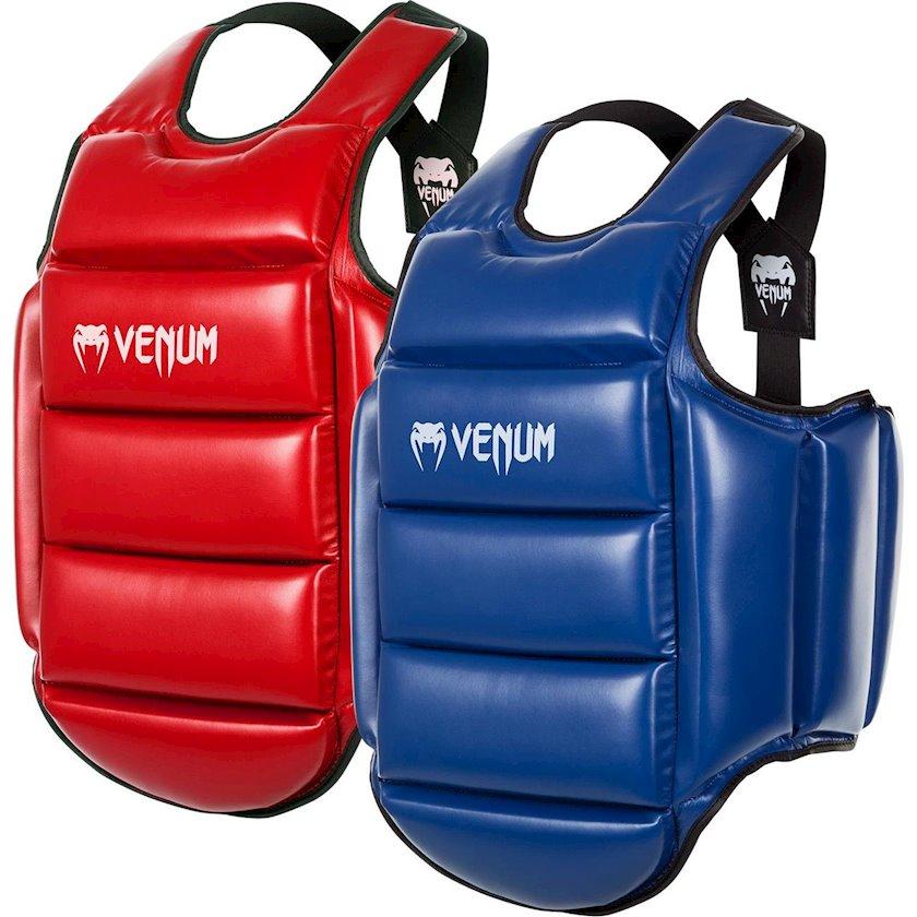 Qoruyucu jilet Venum Karate Body Protector-Reversible, İkitərəfli, Göy/Qırmızı, L