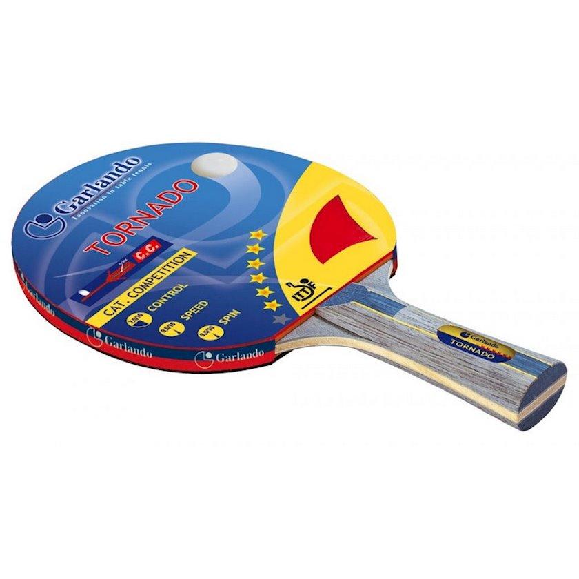 Stolüstü tennis raketkası Garlando Tornado Racchetta Ping Pong, 6 stars