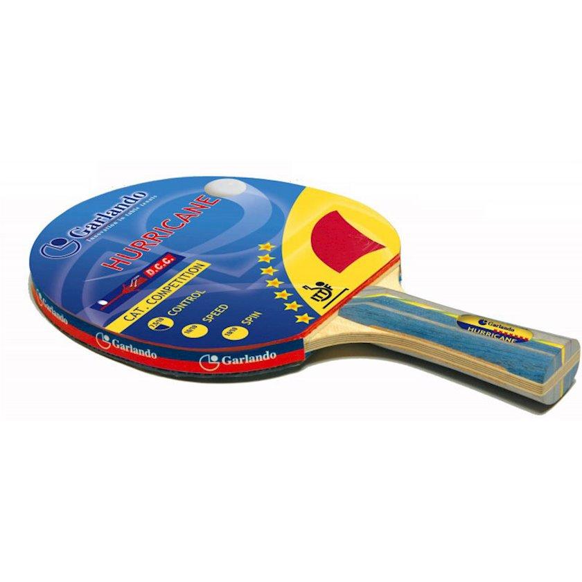 Stolüstü tennis raketkası Garlando Hurricane Racchetta Ping Pong, 7 stars