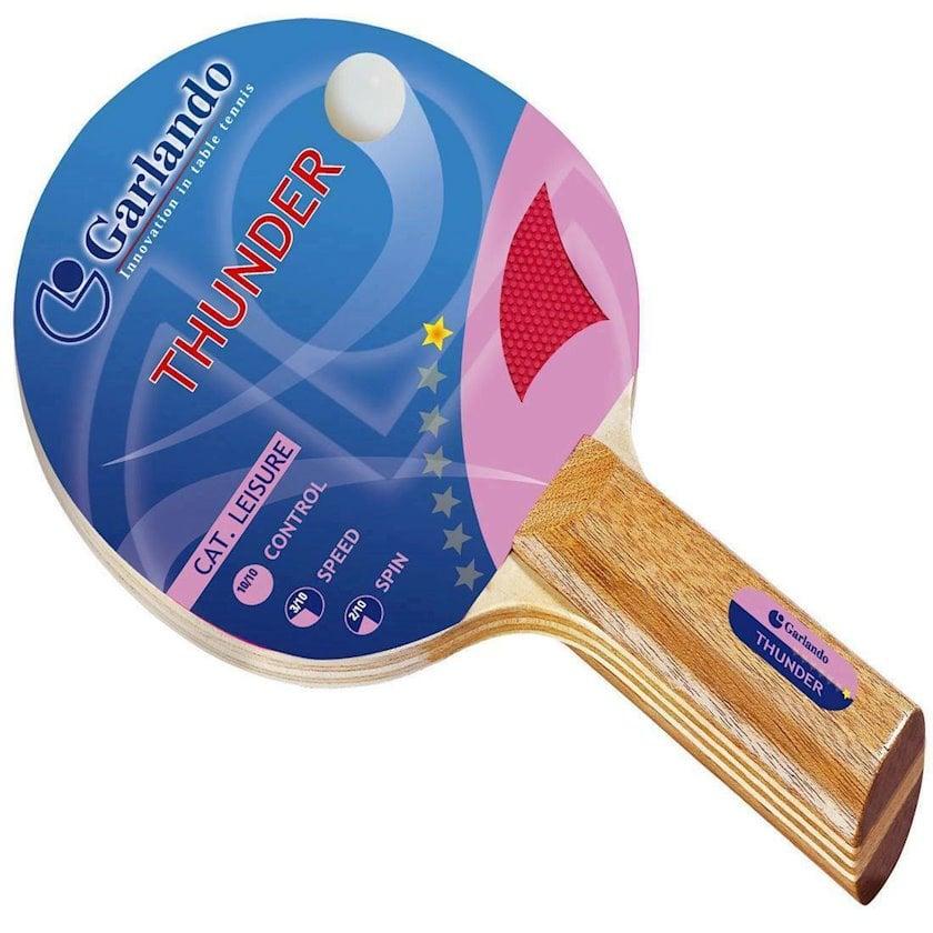 Stolüstü tennis raketkası Garlando Thunder Racchetta Ping Pong, 1 star