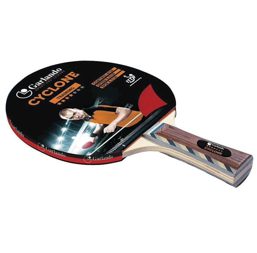 Stolüstü tennis raketkası Garlando Table Tennis Bat Cyclone, 4 stars