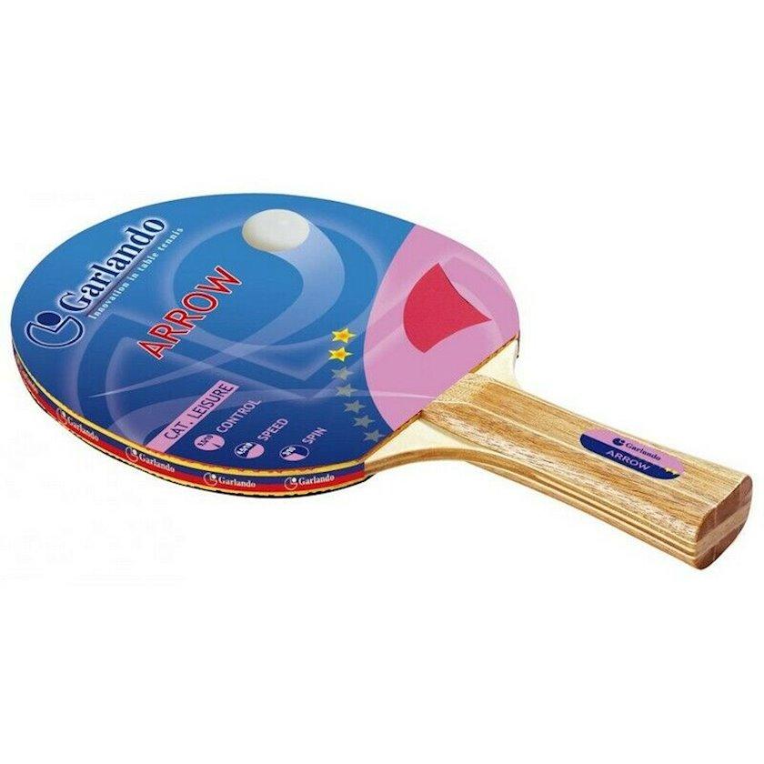 Stolüstü tennis raketkası Garlando Tennis Racket Arrow, 2 stars