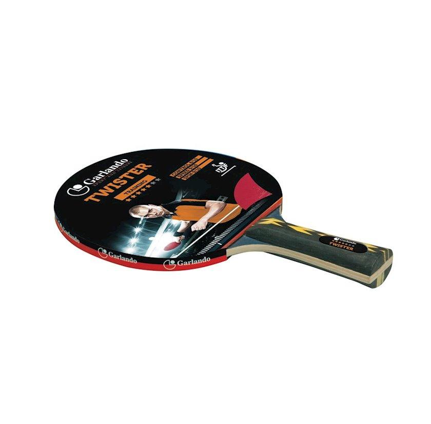 Stolüstü tennis raketkası Garlando Table Tennis Bat Twister, 5 stars
