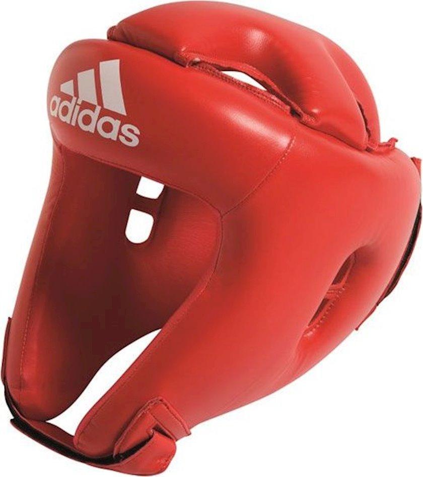 Qoruyucu dəbilqə Adidas Boxing Rookie Headguard, Qırmızı, XL