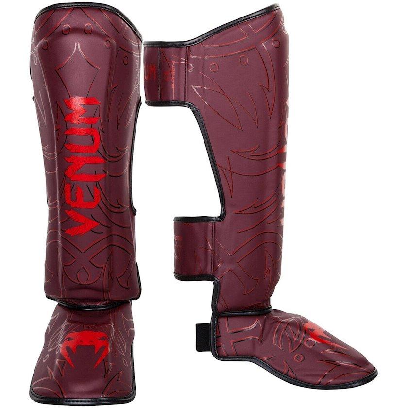 Baldır və ayaq qoruyucusu Venum Nightcrawler Shinguards, Uniseks, Qırmızı, XL
