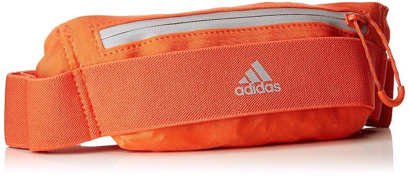 Bel idman çantası Adidas CY6091 Run Belt, uniseks, narıncı, 5.5sm х 27sm