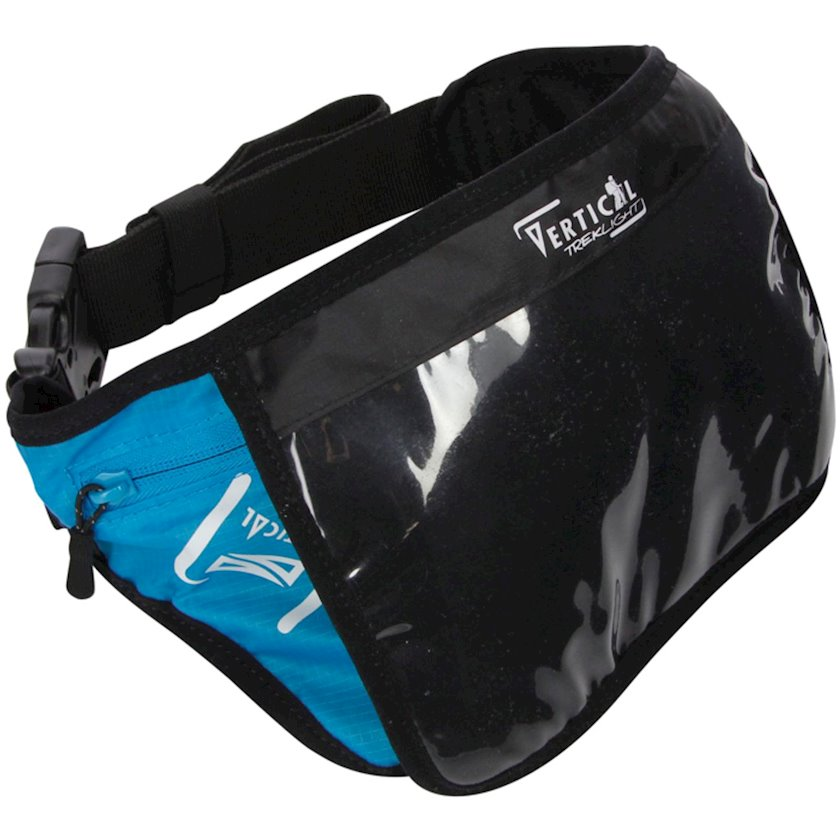Bel idman çantası Raidlight Tablet Mini Belt, uniseks, qara, 19sm x 12.5sm
