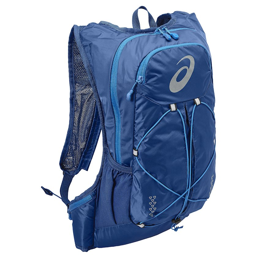 Bel çantası Asics Lightweight Running Backpack 131847-0844, uniseks, göy, həcmi 10l