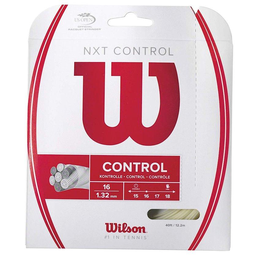 Raketlər üçün tenis simi Wilson NXT Control 16, Qalınlıq 1.32 mm, Uzunluq 12.2 m