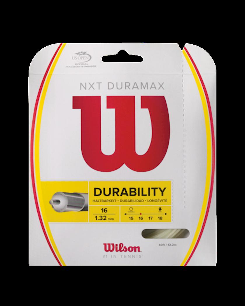 Raketlər üçün tenis simi Wilson NXT Duramax 16, Qalınlıq 1.32 mm, Uzunluq 12.2 m