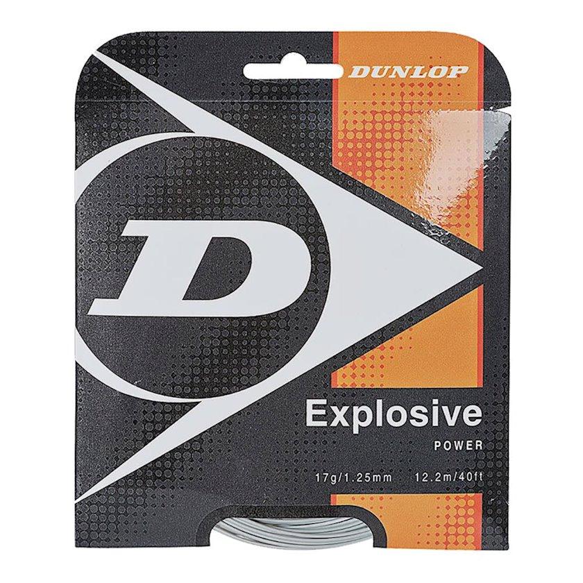 Raketlər üçün tenis simi Dunlop Explosive Power Biomimetic 17G, Qalınlıq 1.25 mm, Uzunluq 12.2 m