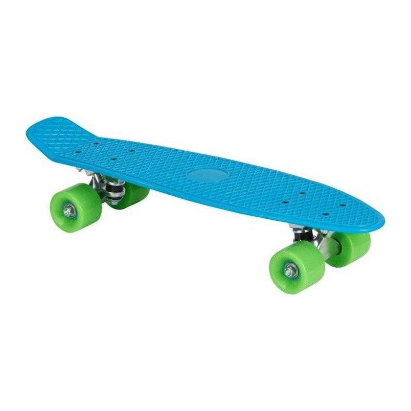 Skeytbord Up2glide Vintage 22 Skateboards, uniseks, plastik deka, 56.5sm х15sm, qalınlıq 15 mm, maksimal çəki 80 kq